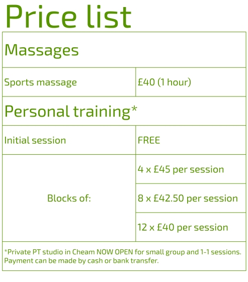 Price list Owen